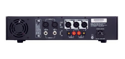 amplificador potencia soundxtreme sxp 200 600w cjf