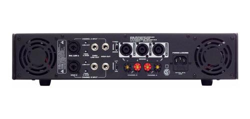 amplificador potencia soundxtreme sxp 800 w rms uso pro cjf