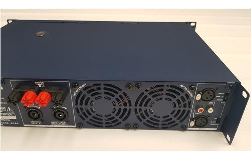 amplificador potência crown t 3 - 2 x 450 wrms (220v) t-3