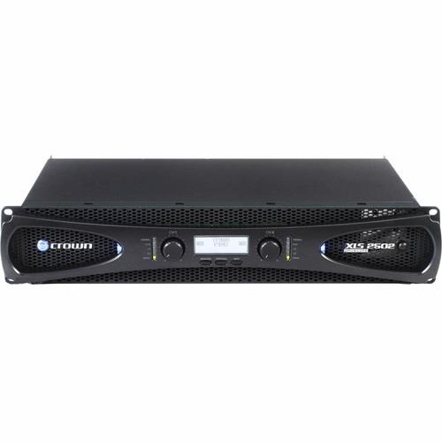 amplificador potência crown xls2502 2400w 127v model xls2500