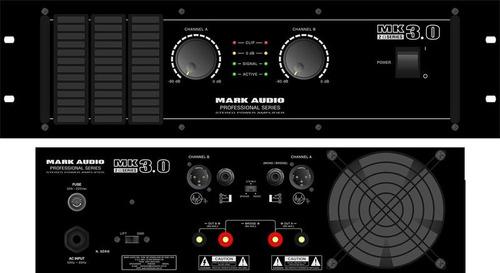 amplificador potência mark audio mk 3.0 3000wrms mk3.0