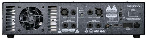 amplificador potência oneal op 1700 - lançamento