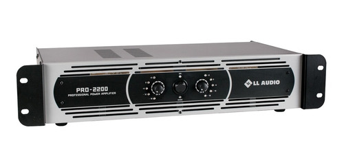 amplificador potência profissional l l pro2200 550w nca