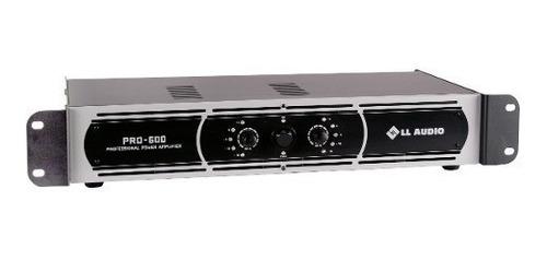 amplificador potência profissional pro600 150 watts rms nca