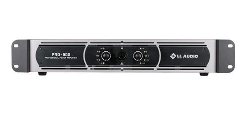 amplificador potência profissional pro800 200 watts rms nca