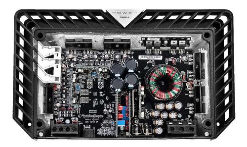 amplificador power rockford fosgate 2 canales 600 watts rms