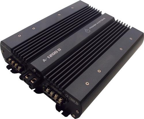 amplificador power systems a-1200.4d