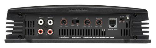 amplificador powerbass asa3-400.1 monoblock 400w