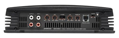 amplificador powerbass asa3-600.2 600w