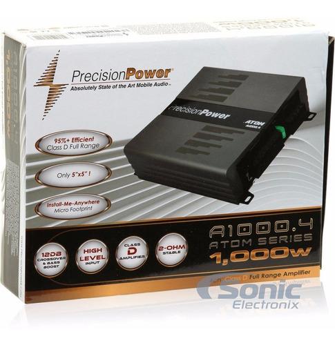 amplificador precision power ppi a1000.4 1000w 4-channel