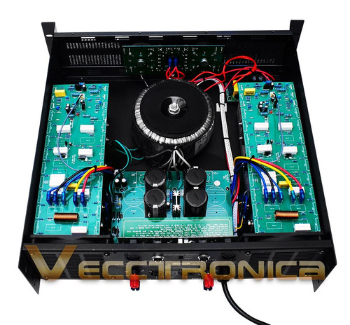amplificador profesional audio