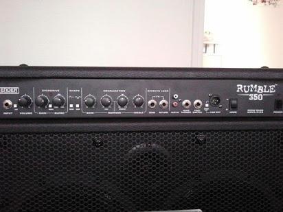 amplificador profesional fender rumble 350rms.