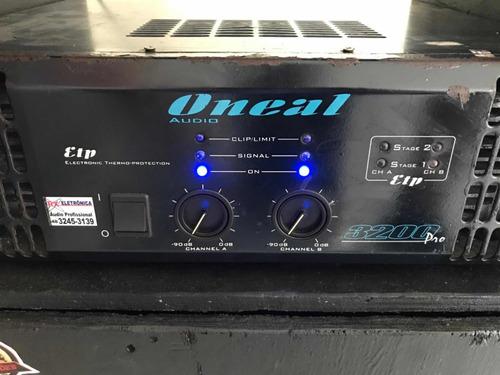 amplificador profissional pro