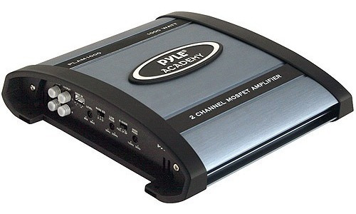 amplificador puenteable de 2 canales pyle 1000w