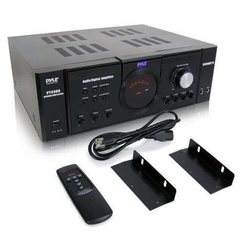 amplificador pyle pt3300 3000 watt 4 channel 3u