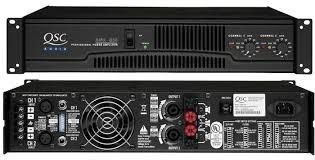 amplificador qsc 850 rmx, como nuevo!!!
