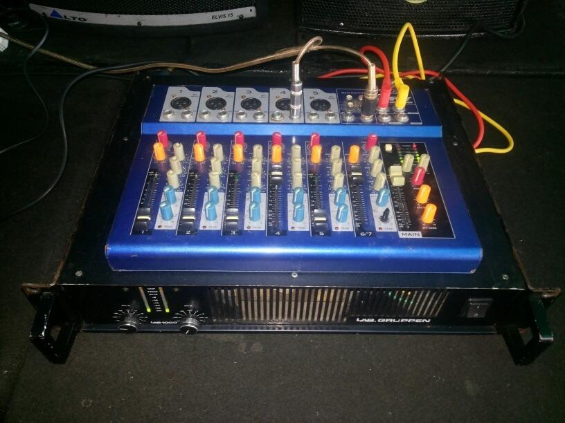 Amplificador Qsc Jbl Lad Grupen Rcf Denon Das Yamaha Crest - Bs  850 000,00