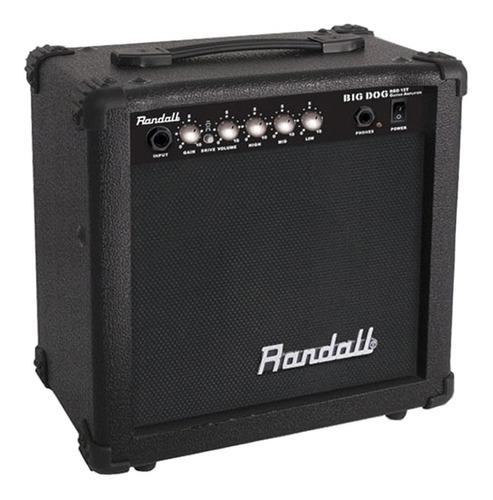 amplificador randall para guitarra big dog rbd15t