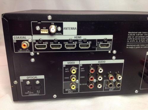 amplificador receiver sony str-dh540 5.2 multi channel av