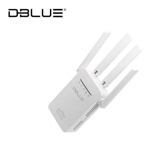 amplificador repetidor señal wifi 300 mbps con 4 antenas