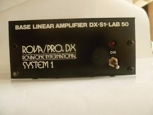 amplificador r.f.- cb lineal de 60 watt
