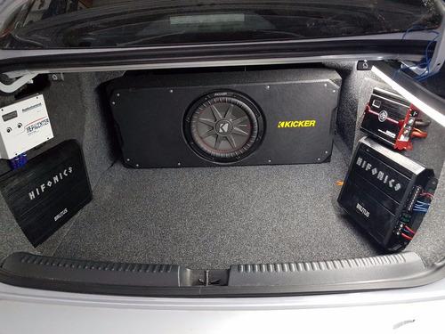 amplificador rock series 6000w para spl
