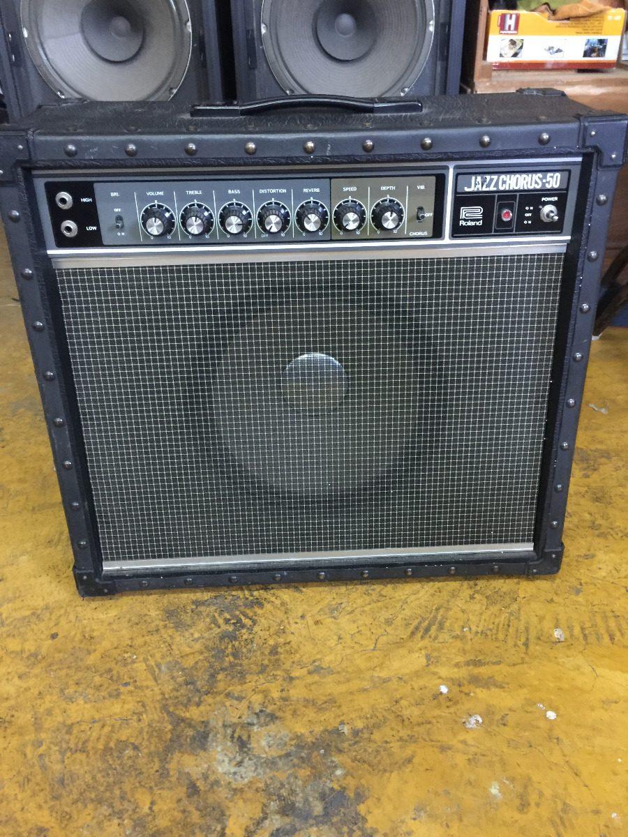 Amplificador Roland Jc-50 (fender, Marshall, Orange, Mesa) - $ 7,500 00