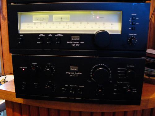 amplificador sansui au 517/tu 517/se-7