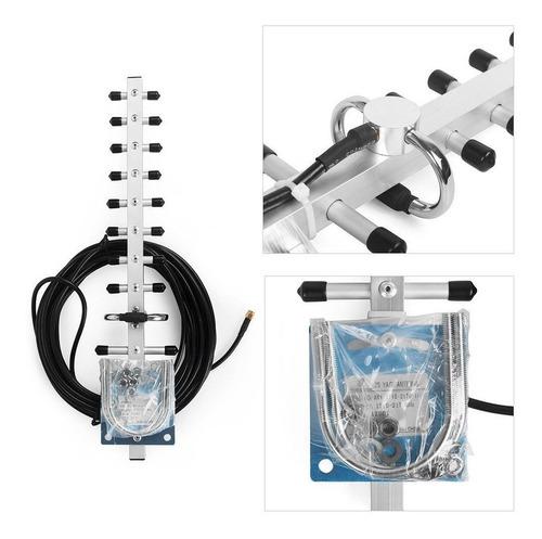 amplificador señal celular 4g 1900 mhz 65db movi + antenas