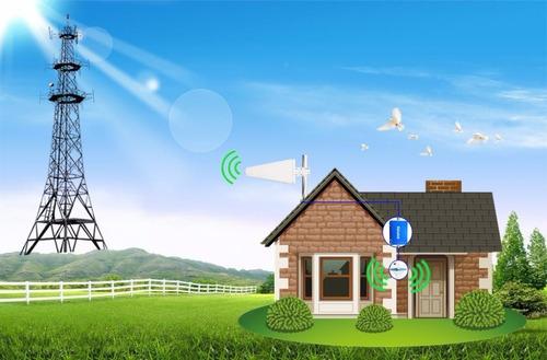 amplificador señal celular 4g 2100 mhz 70db claro cnt + ante