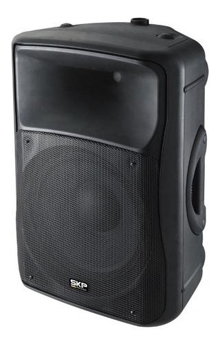 amplificador sk-4p skp 15  negro 250w rms 500 w 124 db pce