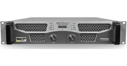amplificador skp max g1220x potencia 1200 watts rms profiss.