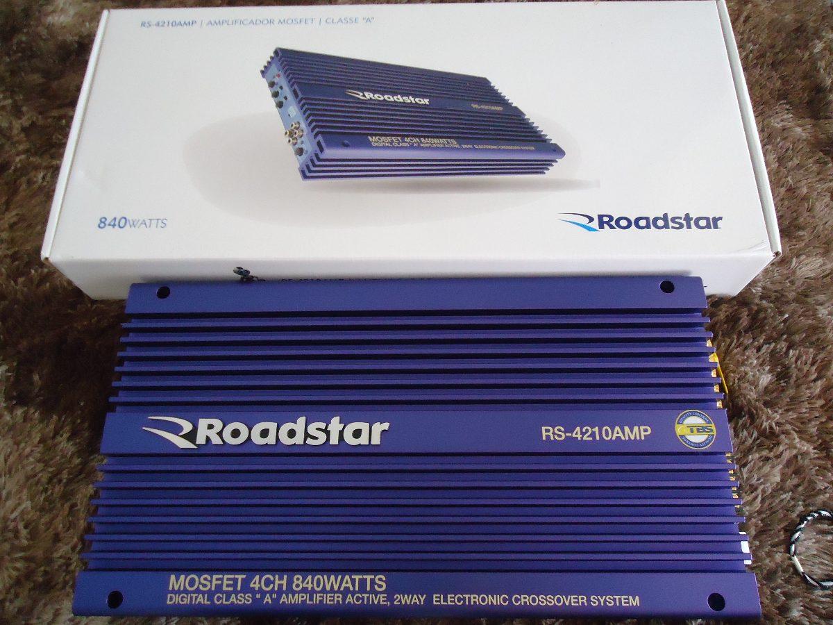 roadstar 840 w modulo amplificador som carro r 380 00 em mercado rh produto mercadolivre com br manual roadstar 840 pdf roadstar 840 manual download