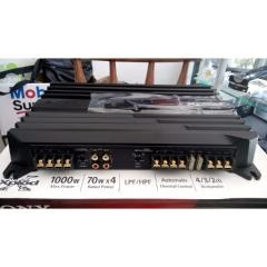 amplificador sony 1000w 4 canales