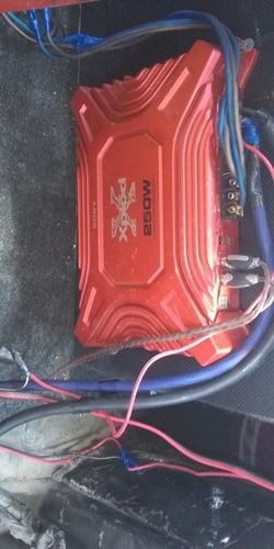amplificador sony xplore