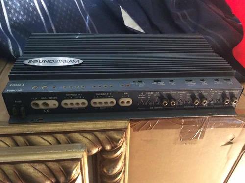 amplificador sound stream 5 canales nunca reparado,un dueño