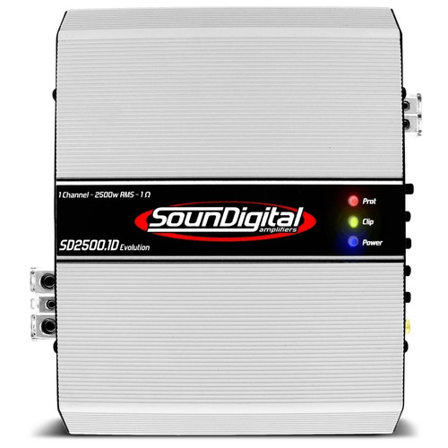 amplificador soundigital 2500w