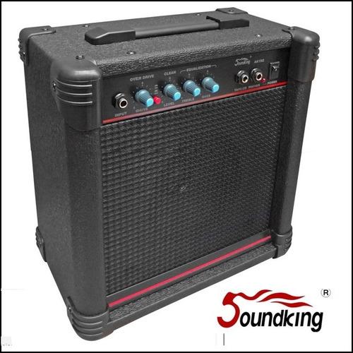 amplificador soundking ak15g para guitarra 15w rms