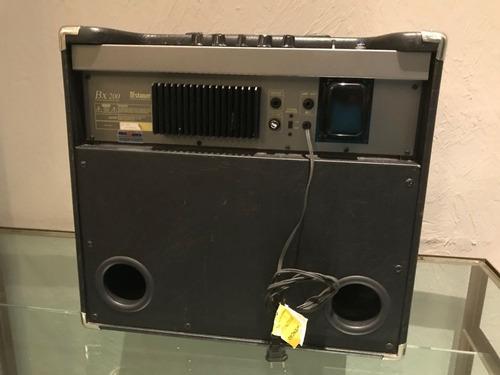 amplificador staner bx 200 140w para contrabaixo