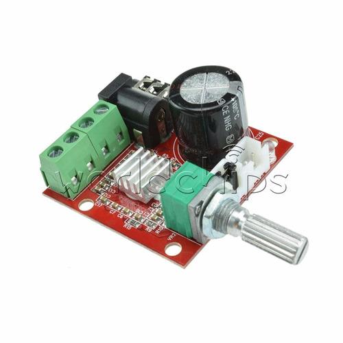 amplificador stereo clase d de 30w para casa