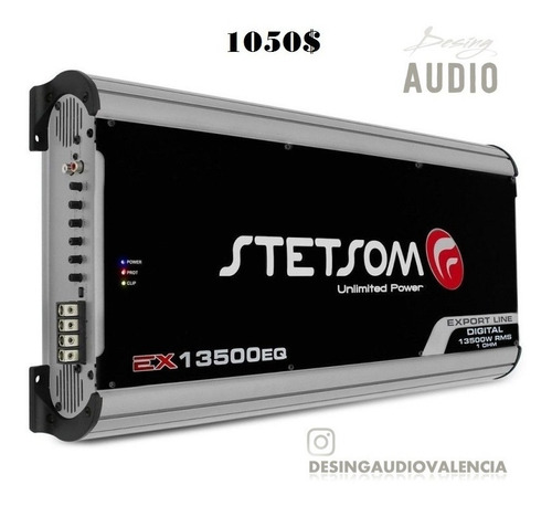 amplificador stetsom 13k modelo ex-13500eq en 1 ohm