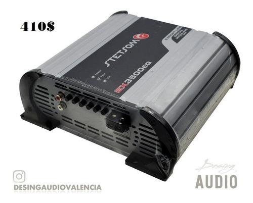 amplificador stetsom 3.5k modelo ex3-3500eq en 1 ohm / 2 ohm