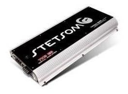 amplificador stetsom ref: 7k2 e vulcan @ 13,8 1ohm 1x9.200rm