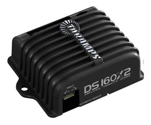 amplificador taramps ds160x2 dig 160wrms