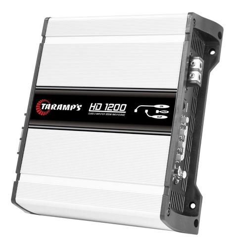 amplificador taramps hd1200 1200w rms 1 canal clase d