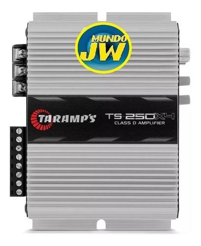 amplificador taramps ref ts250x4 280w rms 4 canales