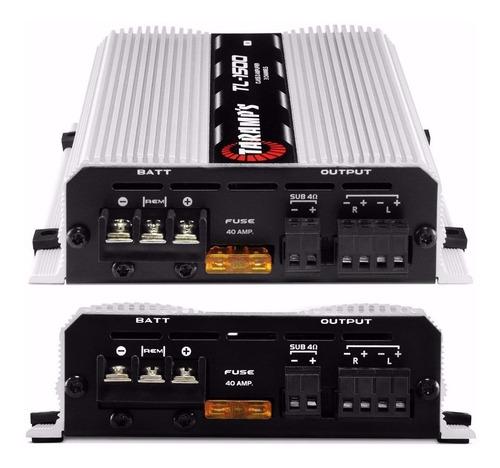 amplificador taramps tl1500-1500 w 3 canales nuevo!