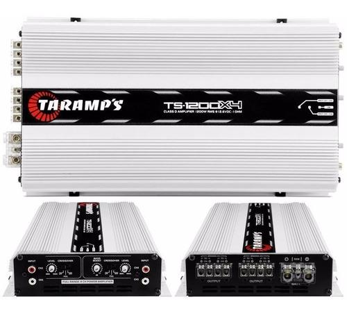 amplificador taramps ts 1200x4