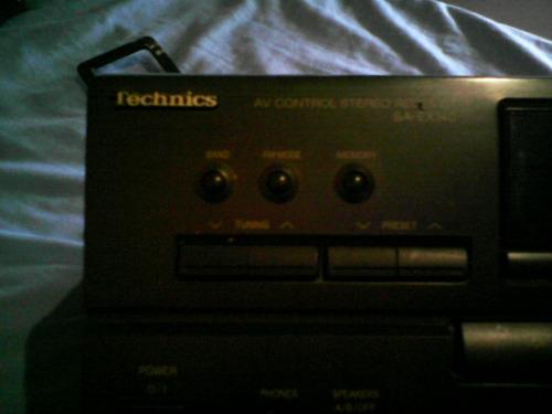 amplificador technics sa-ex140 am fm 200w exelente estado