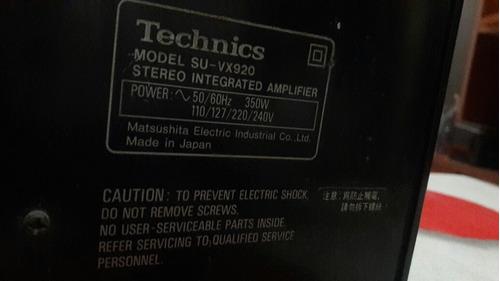 amplificador technics su-vx920